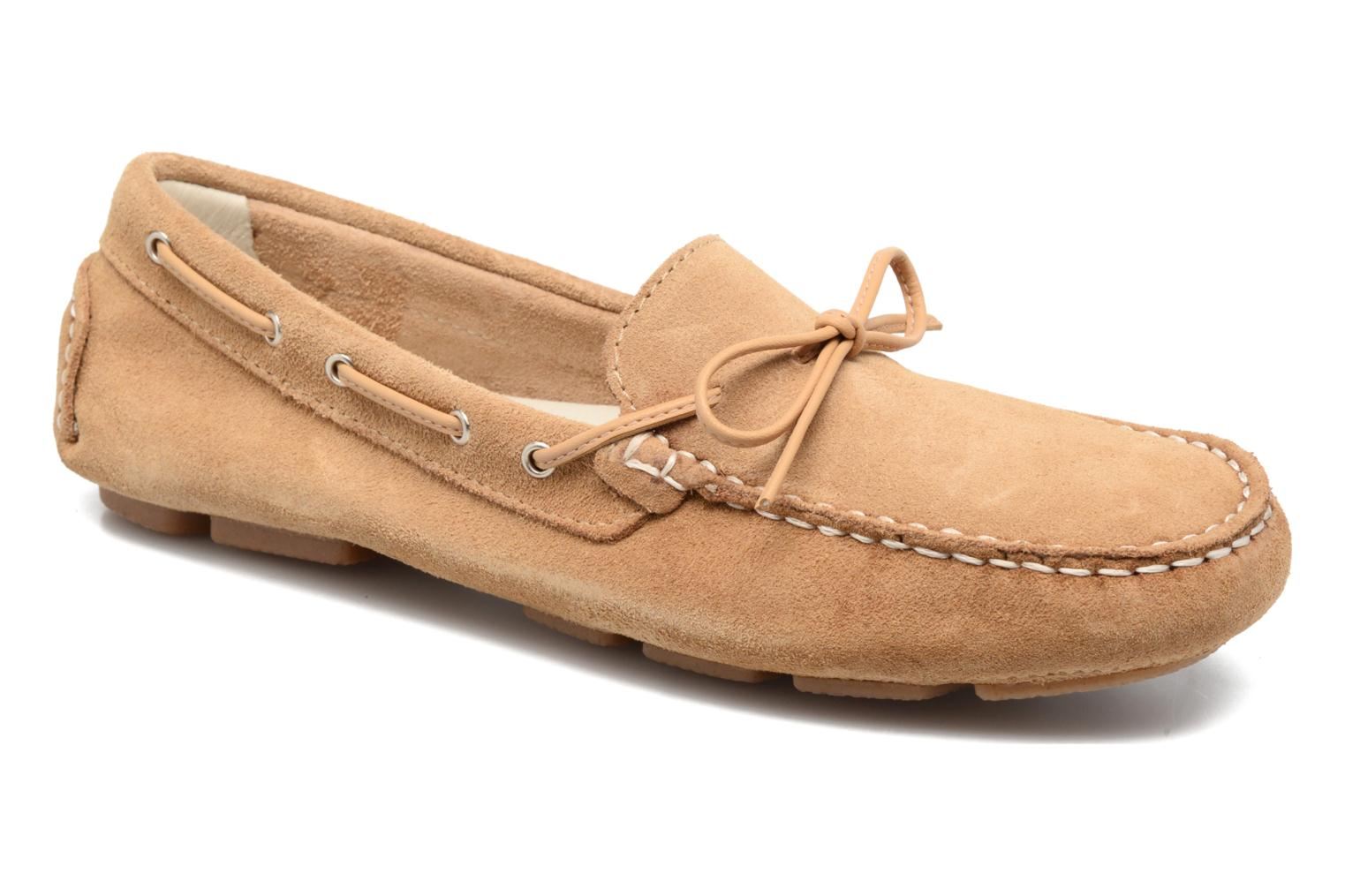 Loafers Georgia Rose Rettac Beige detailed view/ Pair view
