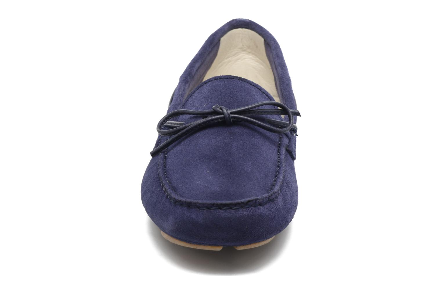 Loafers Georgia Rose Rettac Blue model view