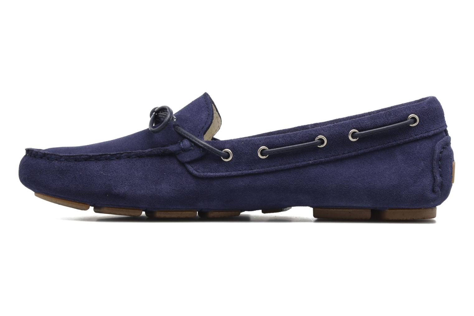Loafers Georgia Rose Rettac Blue front view