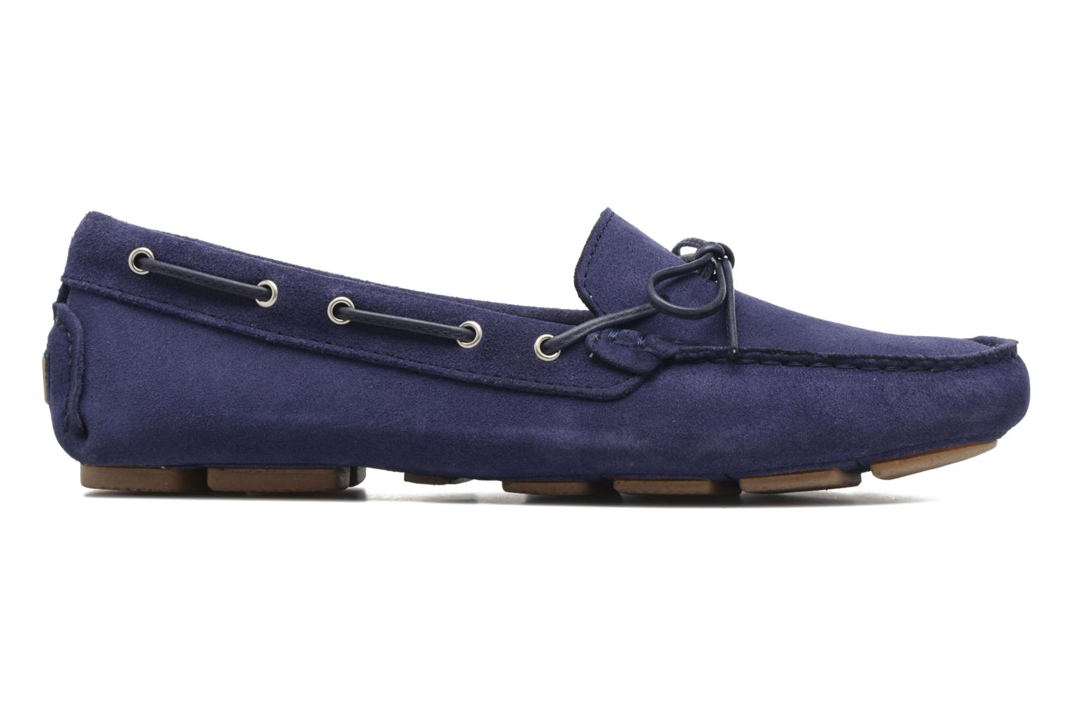 Loafers Georgia Rose Rettac Blue back view