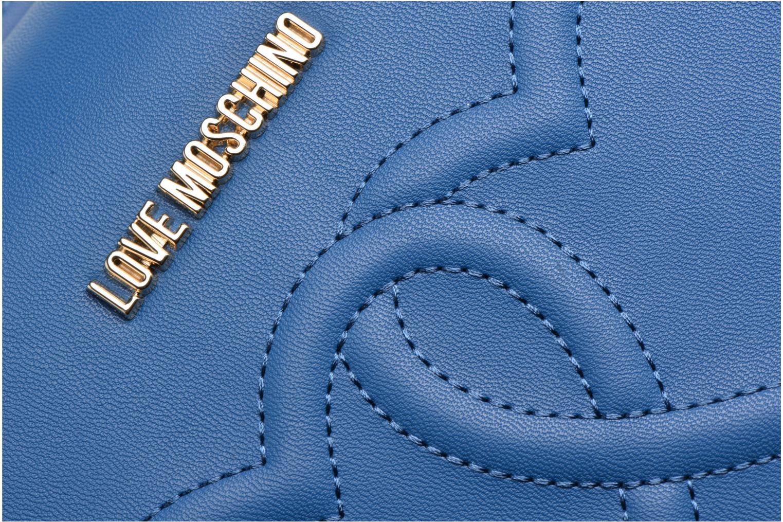 Handtaschen Love Moschino JC4288PP03 blau ansicht von links