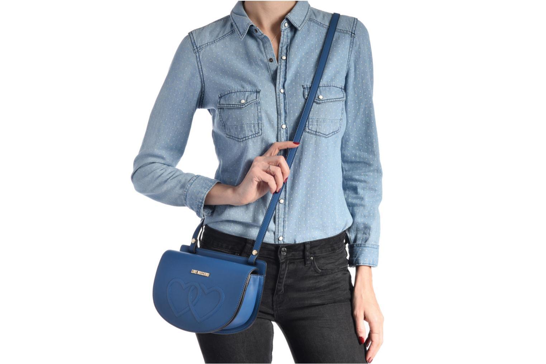 Handtaschen Love Moschino JC4288PP03 blau ansicht von oben