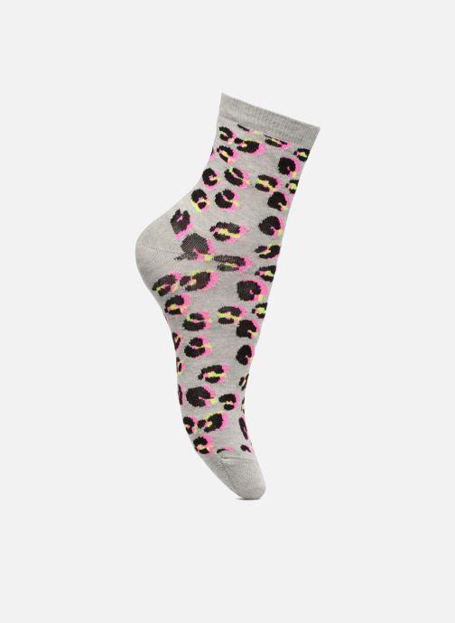 Sokken en panty's Sarenza Wear Chaussettes Femme Léopard Coton Roze detail