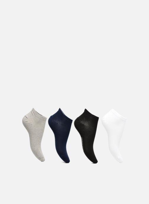 Chaussettes invisibles Femme unies Pack de 4 Coton