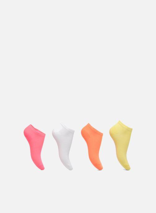 Chaussettes Enfants Pack de 4 invisibles Fluo
