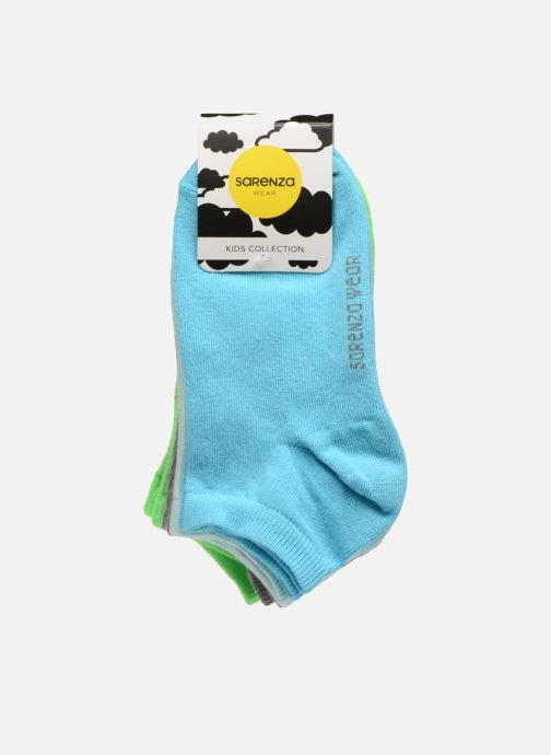 Chaussettes et collants Sarenza Wear Chaussettes Enfants Pack de 4 invisibles Fluo Multicolore vue portées chaussures