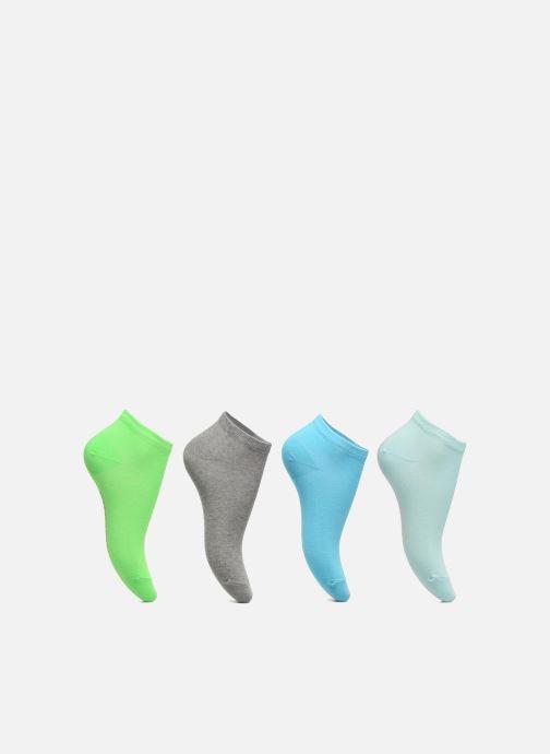Chaussettes et collants Sarenza Wear Chaussettes Enfants Pack de 4 invisibles Fluo Multicolore vue détail/paire