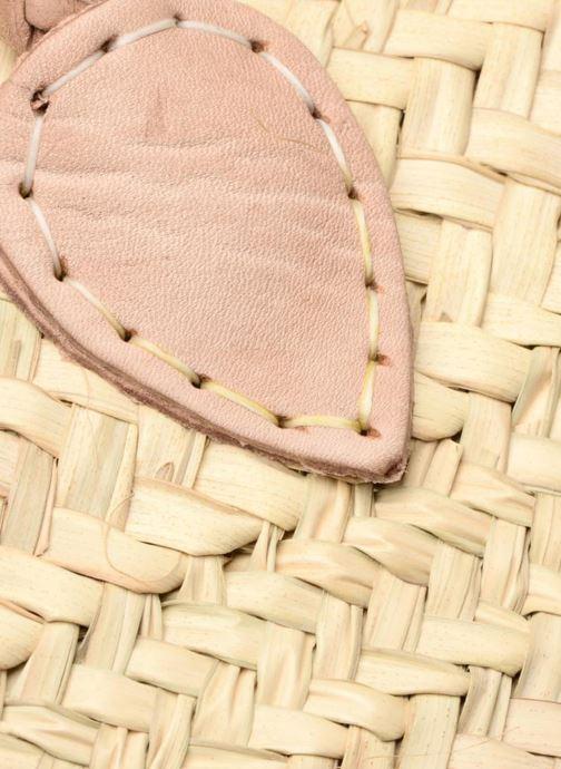 Sacs à main Etincelles Panier artisanal Vierge longes anses Beige vue gauche