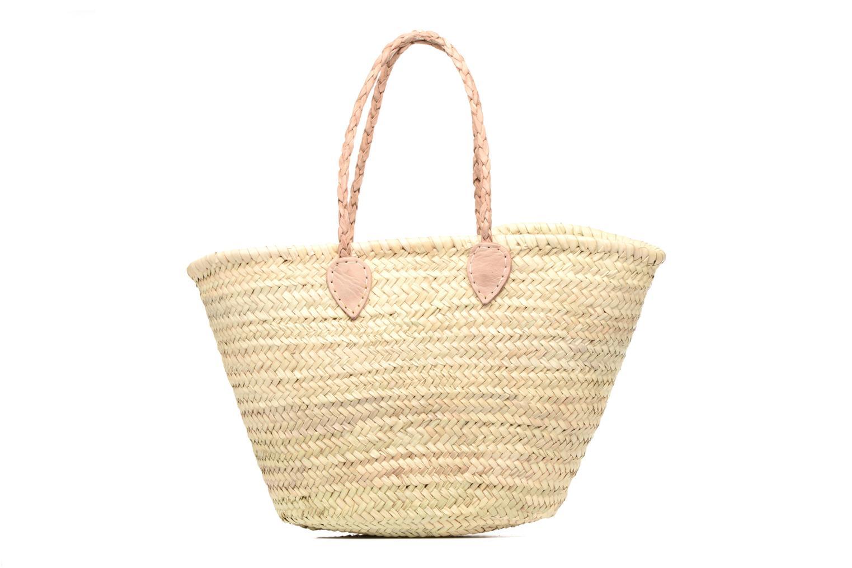 Handbags Etincelles Panier artisanal Vierge longes anses Beige detailed view/ Pair view