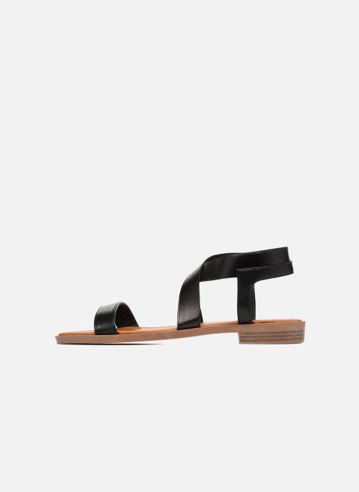 Sandales et nu-pieds I Love Shoes THAVA Size + Noir vue face