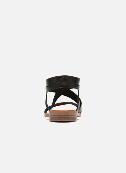 Sandales et nu-pieds I Love Shoes THAVA Size + Noir vue droite