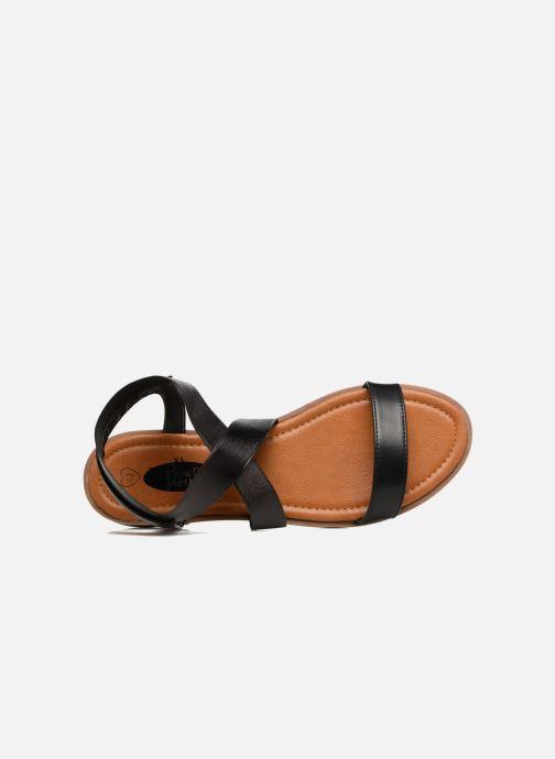 Sandales et nu-pieds I Love Shoes THAVA Size + Noir vue gauche