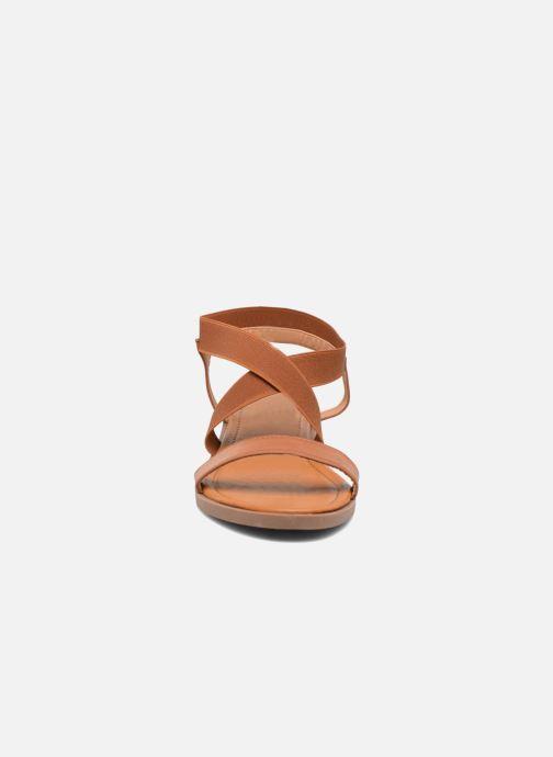Sandali e scarpe aperte I Love Shoes FAVA Size + Marrone modello indossato
