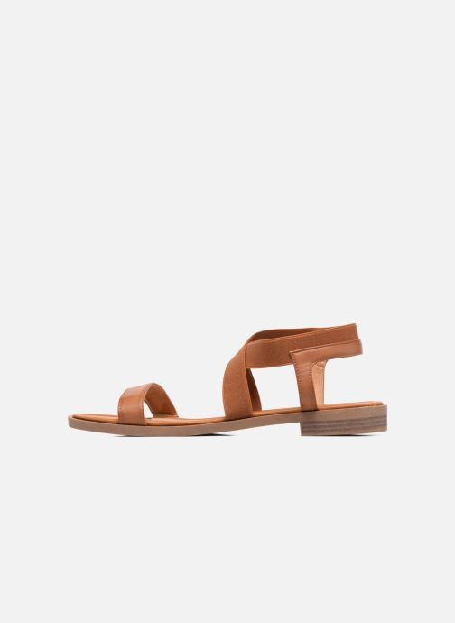 Sandales et nu-pieds I Love Shoes FAVA Size + Marron vue face