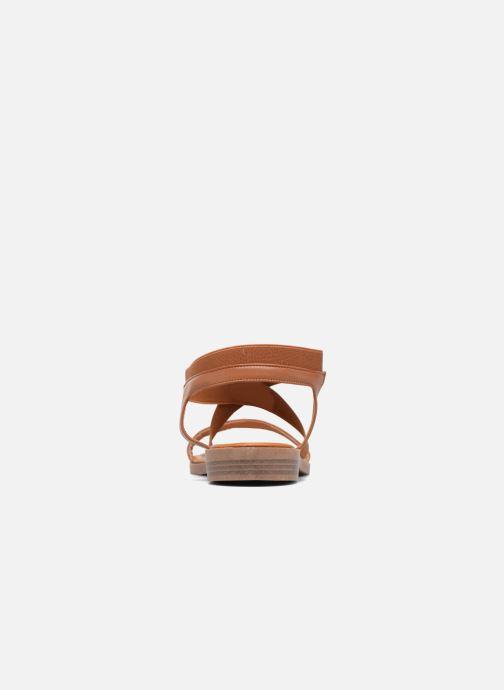 Sandales et nu-pieds I Love Shoes FAVA Size + Marron vue droite