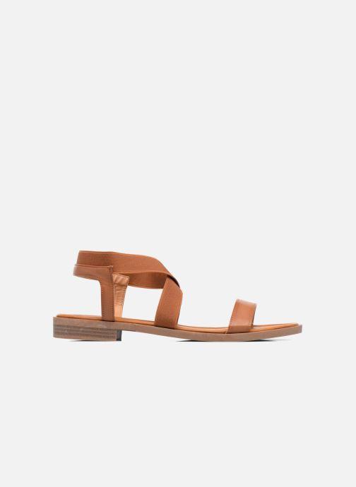Sandales et nu-pieds I Love Shoes FAVA Size + Marron vue derrière