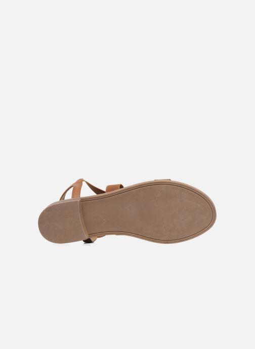 Sandalen I Love Shoes FAVA Size + braun ansicht von oben