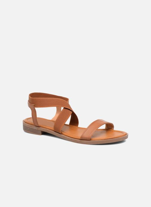 Sandales et nu-pieds I Love Shoes FAVA Size + Marron vue détail/paire