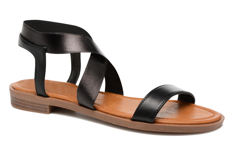 Sandalen I Love Shoes THAVA Size + Zwart detail