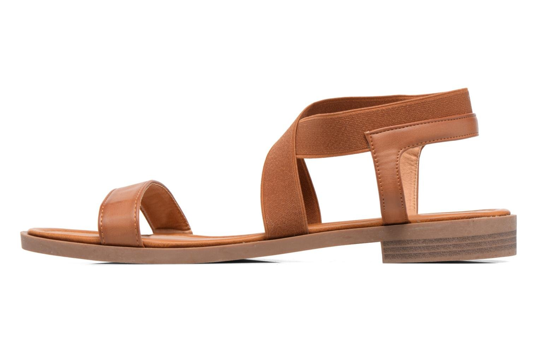 Sandalen I Love Shoes THAVA Size + Bruin voorkant