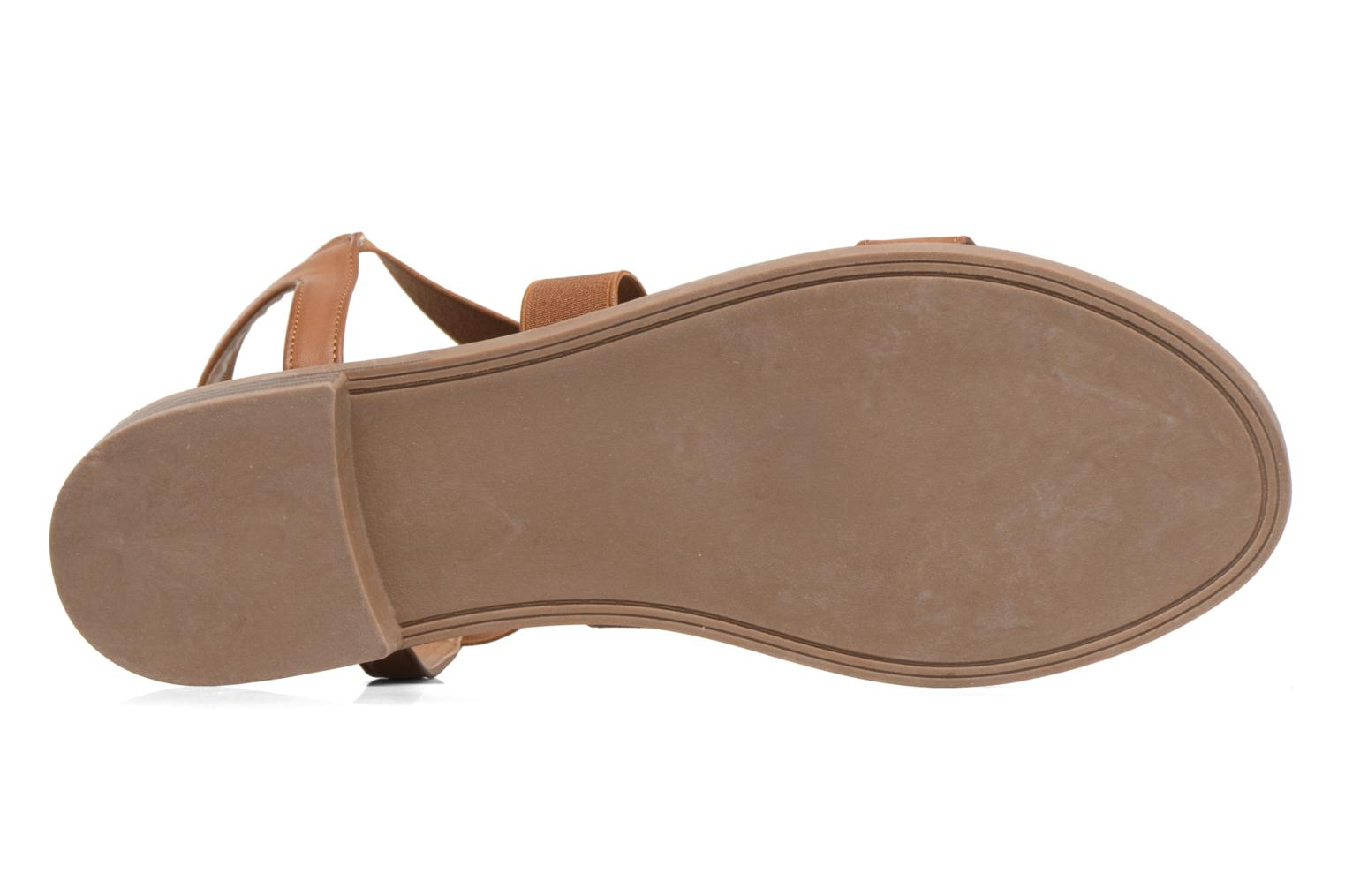 Sandals I Love Shoes THAVA Size + Brown view from above