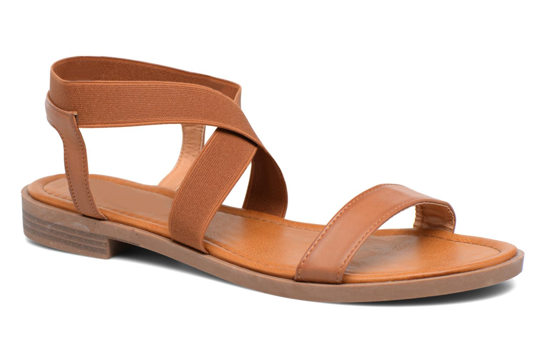 Sandalen I Love Shoes THAVA Size + Bruin detail