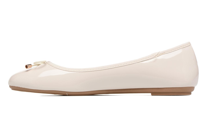 Bailarinas I Love Shoes THAVE Size + Beige vista de frente