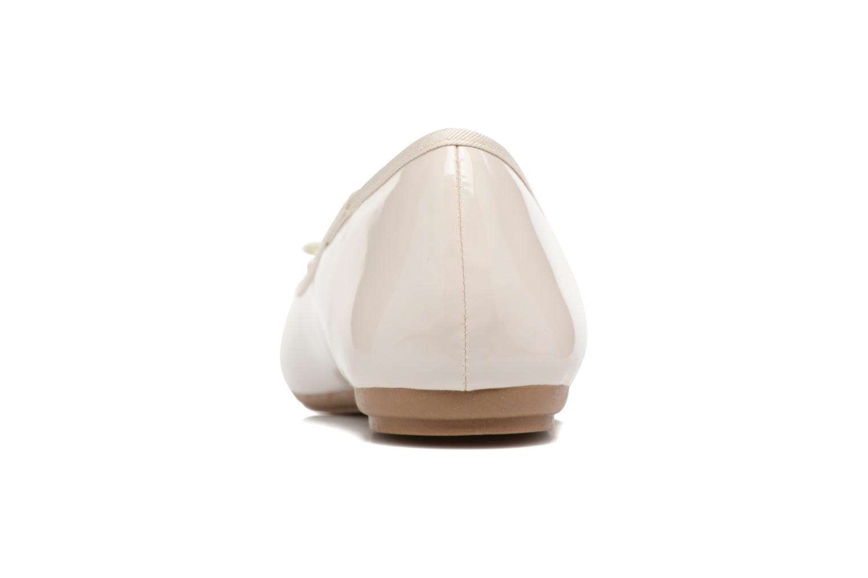 Bailarinas I Love Shoes THAVE Size + Beige vista lateral derecha