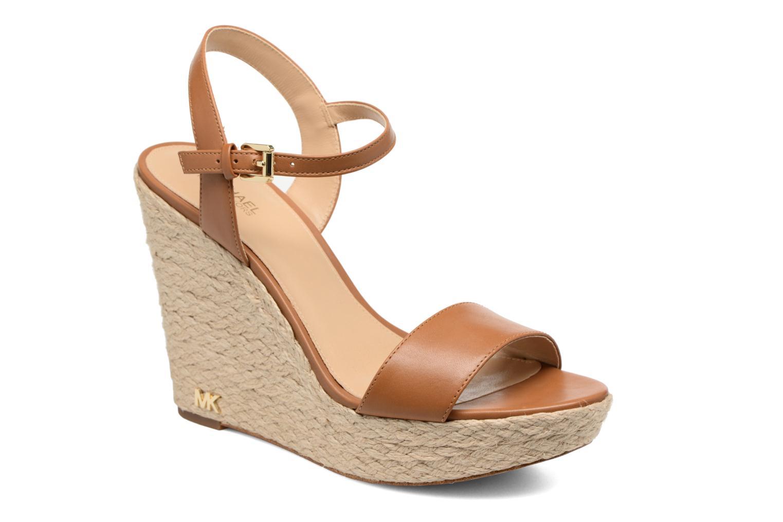 Sandali e scarpe aperte Michael Michael Kors Jill Wedge Marrone vedi dettaglio/paio