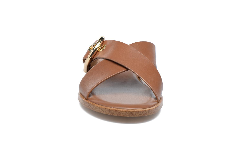Clogs & Pantoletten Michael Michael Kors Cooper Sandal braun schuhe getragen