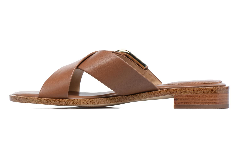 Clogs & Pantoletten Michael Michael Kors Cooper Sandal braun ansicht von vorne