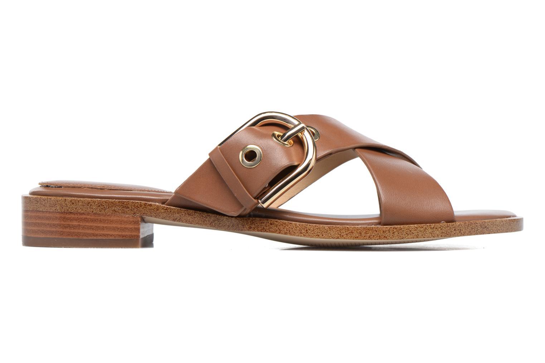 Clogs & Pantoletten Michael Michael Kors Cooper Sandal braun ansicht von hinten