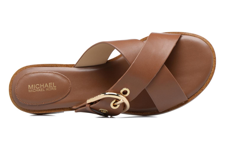 Clogs & Pantoletten Michael Michael Kors Cooper Sandal braun ansicht von links