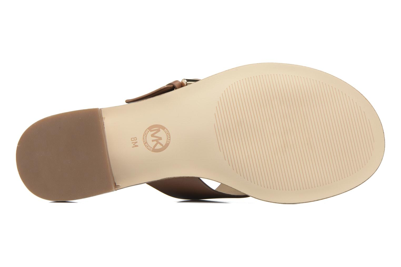 Clogs & Pantoletten Michael Michael Kors Cooper Sandal braun ansicht von oben