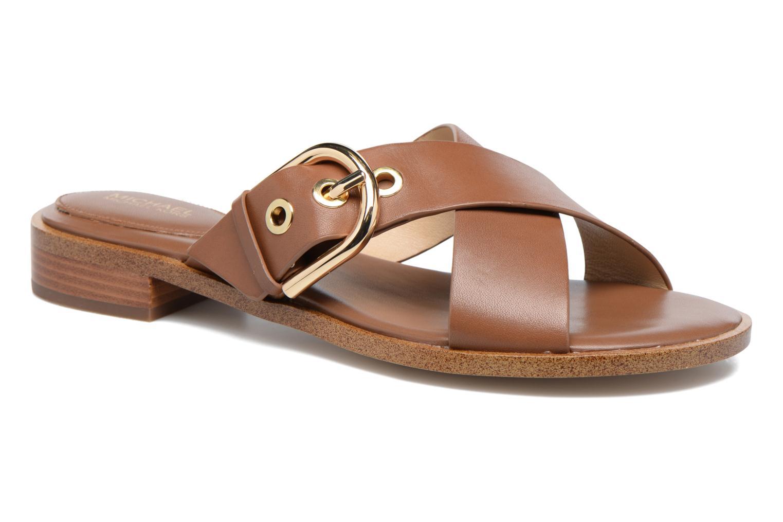 Clogs & Pantoletten Michael Michael Kors Cooper Sandal braun detaillierte ansicht/modell