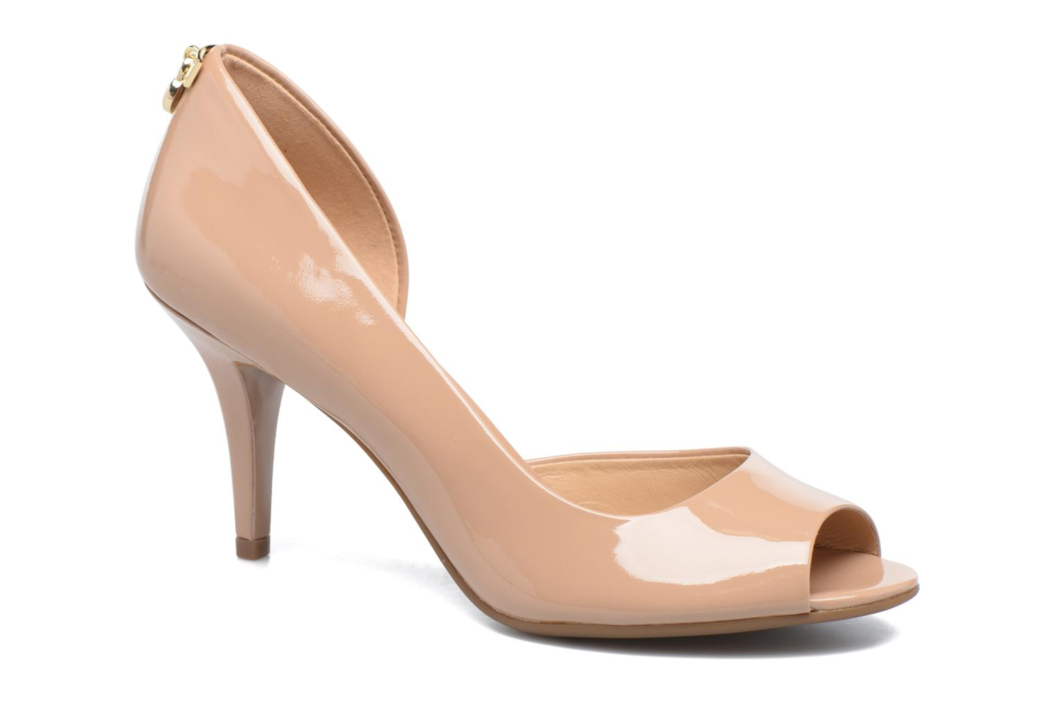 Pumps Michael Michael Kors Hamilton Open Toe Beige detail