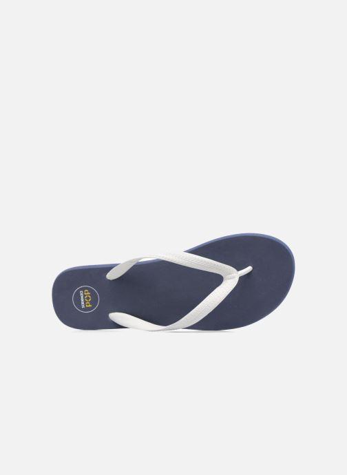 Slippers SARENZA POP Diya W Tong Flip Flop Blauw links