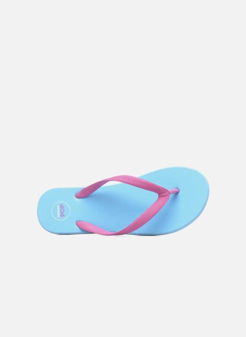 Chanclas SARENZA POP Diya W Tong Flip Flop Azul vista lateral izquierda
