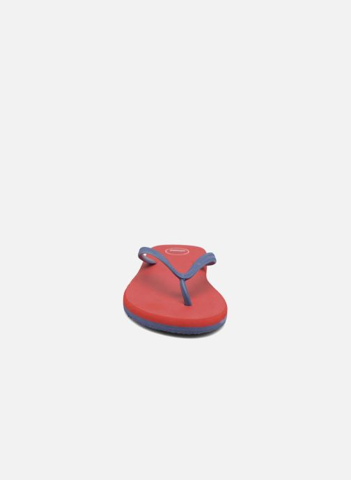 Infradito SARENZA POP Diya M Tong  Flip Flop Rosso modello indossato