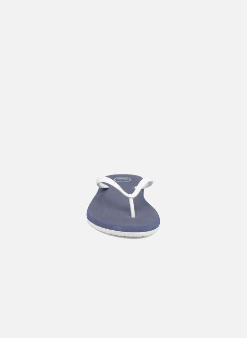 Chanclas SARENZA POP Diya M Tong  Flip Flop Azul vista del modelo