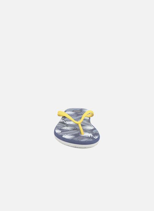 Zehensandalen SARENZA POP Diya M Tong  Flip Flop blau schuhe getragen