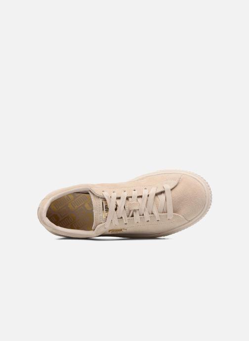 Sneakers Puma WNS SUEDE PLATF SATIN Beige links