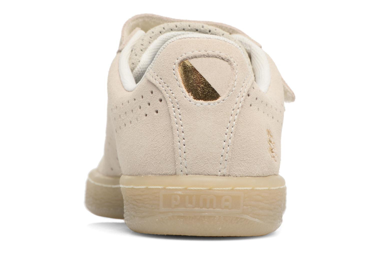 Baskets Puma PUMA x CAREAUX Basket Strap Blanc vue droite