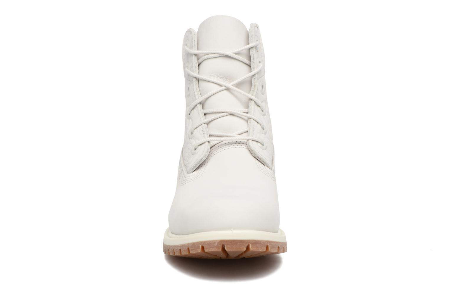 Bottines et boots Timberland 6in Prenium Boot Blanc vue portées chaussures