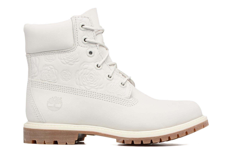 Bottines et boots Timberland 6in Prenium Boot Blanc vue derrière