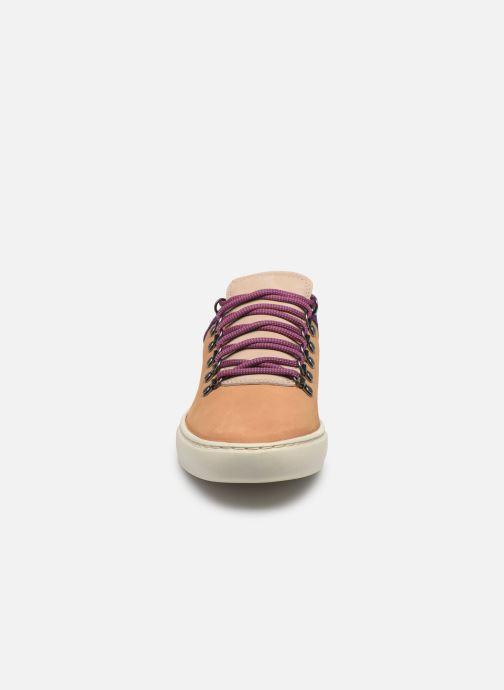 Baskets Timberland Adv 2.0 Cupsole Alpine Ox Beige vue portées chaussures