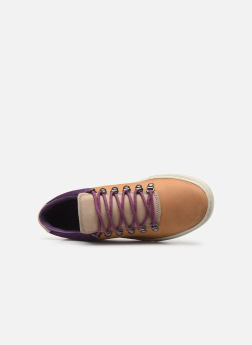 Sneaker Timberland Adv 2.0 Cupsole Alpine Ox beige ansicht von links