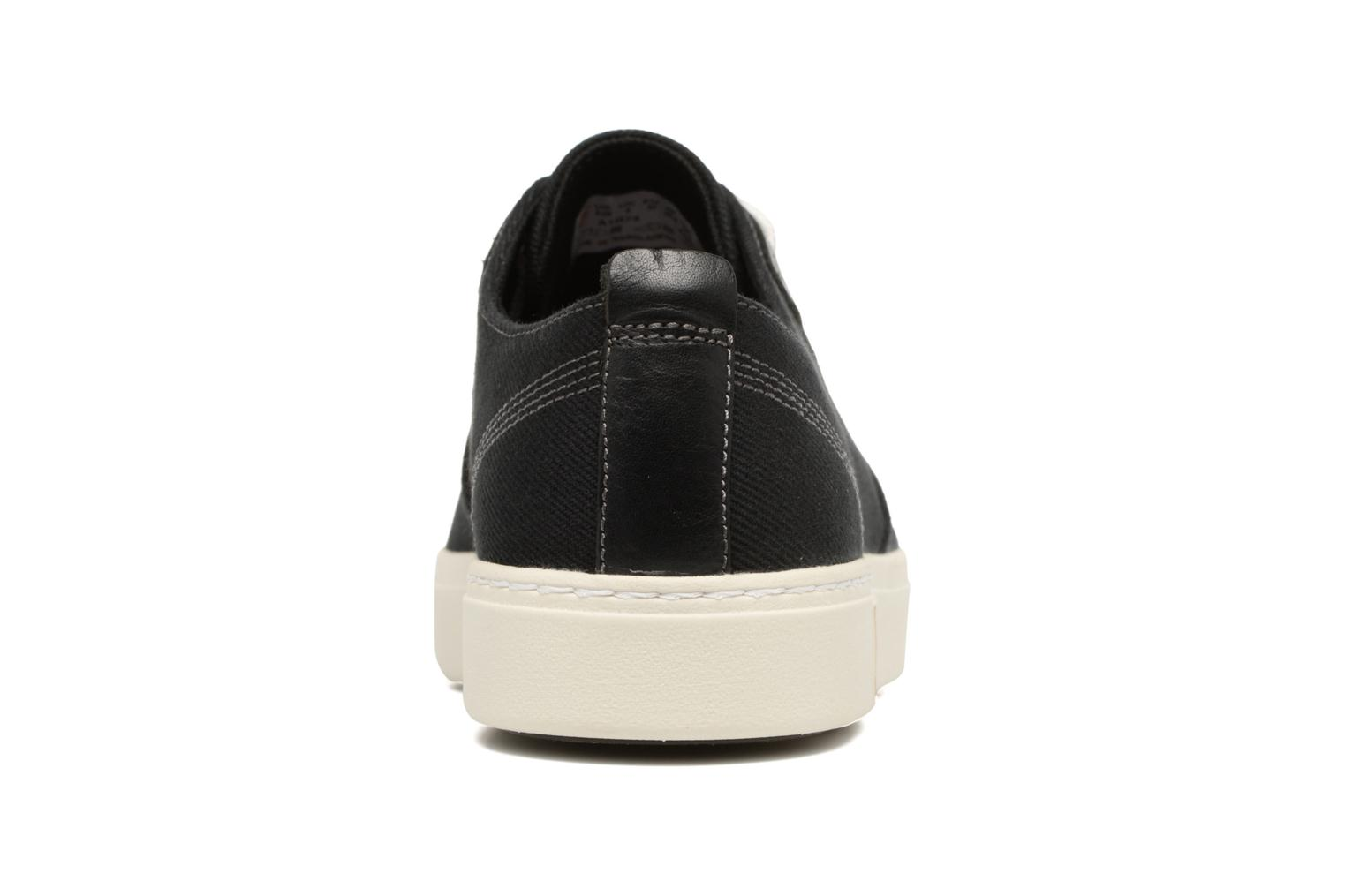 Trainers Timberland Amherst Canvas PTO Black view from the right