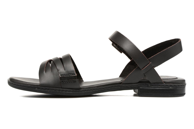 Sandalen Timberland Cherrybrook Ankle Strap schwarz ansicht von vorne