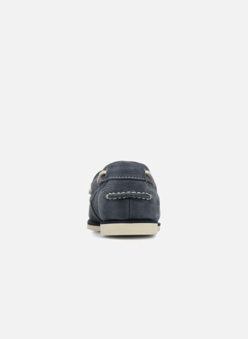 À Lacets Barefoot Classic Boat Chaussures Buffed Unlined Navy Timberland jAL45R
